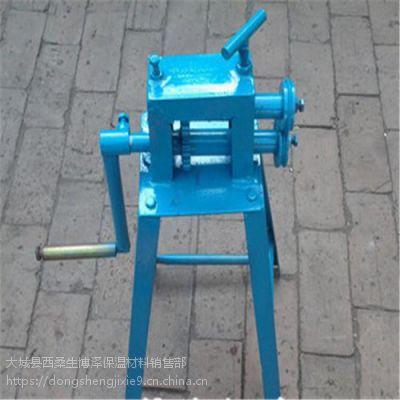 河北省林毅牌手动压骨机 手动压槽机厂家电话