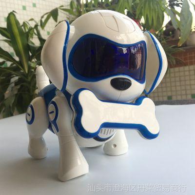 SAMEWIN洛克机器狗亲子早教智能感应仿真唱歌充电益智儿童电子狗