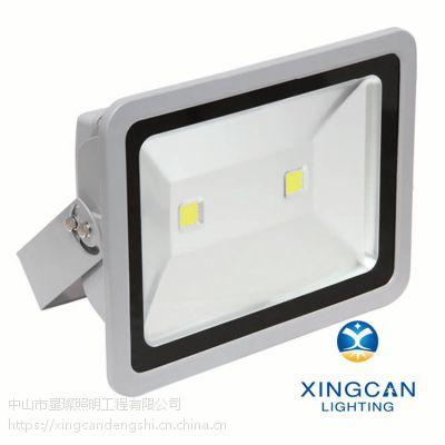 专业LED户外亮化照明灯具 200W集成进口芯片高亮度投射灯 IP65防水广告照树灯