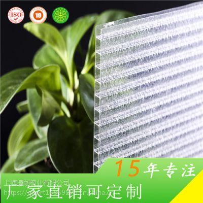 生态园专用防滴露 6mm中空阳光板 上海捷耐厂家直销