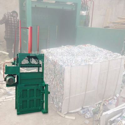 易拉罐矿泉水瓶压块机 富兴纸箱液压打包机 药材液压打包机厂家价格
