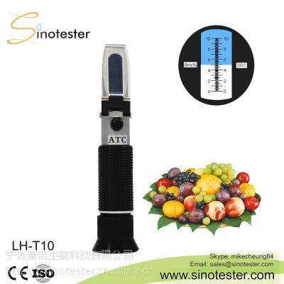 LH-T10手持糖度计糖度折射仪水果饮料甜度计糖量仪