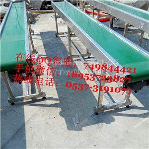 耐磨橡胶带输送机图片和参数 永城市特殊要求皮带输送机 方管爬坡皮带运输机