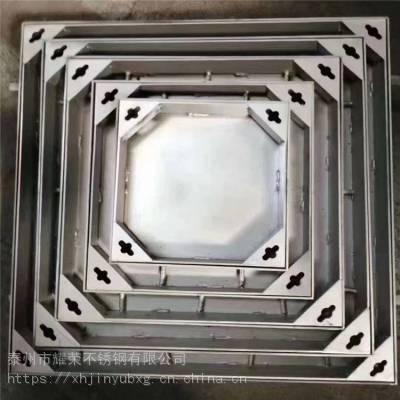 金裕 供应专业制作不锈钢方形井盖500*500、不锈钢圆形井盖板