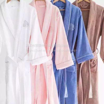 君康传奇厦门厂家直销高档桑拿服浴袍 高档短袖套装浴袍
