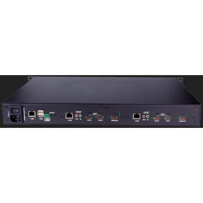 合肥-9进9出网络解码矩阵高清矩阵中控制HDMI矩阵外置拼接处理器混合矩阵价格