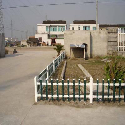 江苏镇江小区塑钢护栏生产商 pvc护栏图片 绿化带草坪护栏多少钱