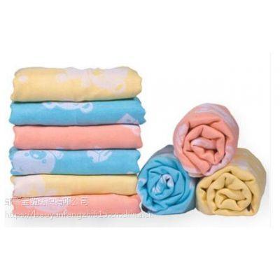 中国结竹纤维浴巾厂家直销双层纱布浴巾小熊提花儿童浴巾1066批发一件代发