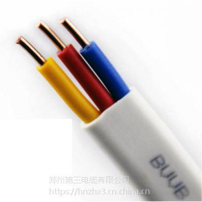 郑州三厂电线BVVB铜护套线2*2.5,2*4,3*6-产品河南报价-三厂BVVB图样