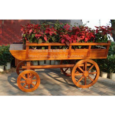 供应广州品木木质防腐木售楼部 组合式花车