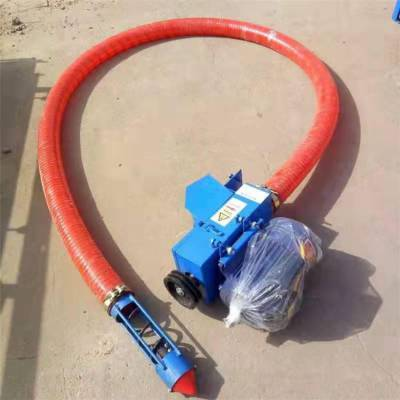 管子自由弯曲吸粮机 农用小型车载吸粮机润丰