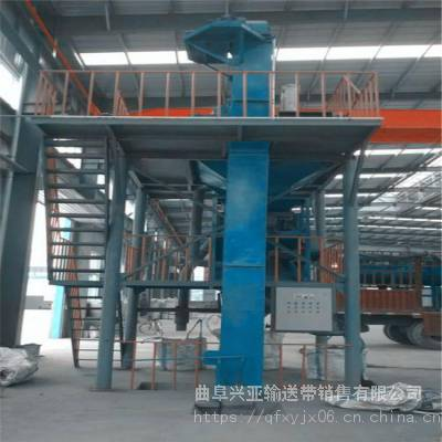 兴亚机械 上海面粉斗式提升机 铁粉高效垂直上料机 不锈钢材质送料机 报价