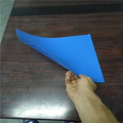 防静电塑料板刀卡 环保PP板圆圈 pp实心板垫片 东莞正美厂家制造