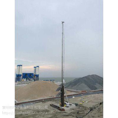 直销移动式升降避雷针 升降式通信塔桅杆 车载通讯升降设备 特价