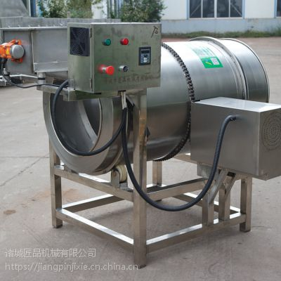 直销链式传动滚筒式锅巴拌料机 强力式搅拌均匀 食品级不锈钢材质,匠品制造