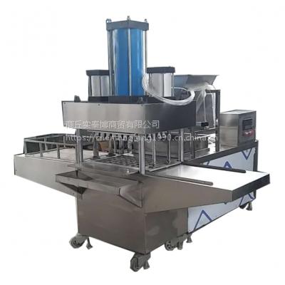 河南商丘福达食品机械模具易换花型定做液压绿豆糕机