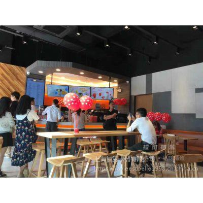 上海甜品店桌椅甜品店实木桌椅定做生产厂家