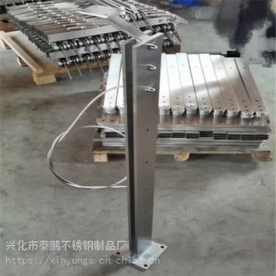 新云 定制不锈钢立柱玻璃楼梯扶手护栏 不锈钢扶手阳台栏杆