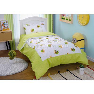 儿童床上六件套 幼儿园被褥6件套 床上用品订制批发