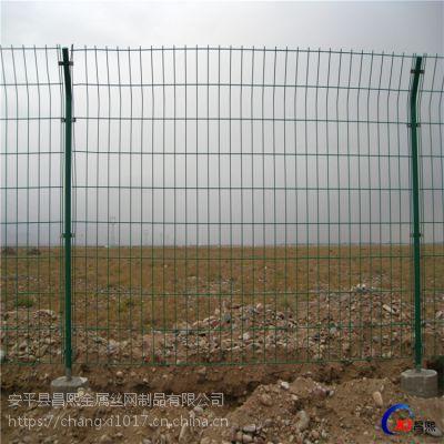 养殖铁丝网围栏 绿色边框围栏网 双边丝护栏网—河北昌熙丝网厂