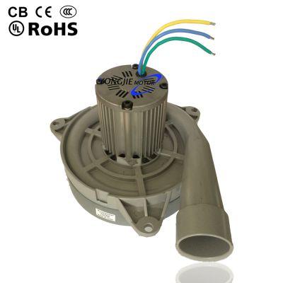 吸料机电机_苏州厂家批发无刷交直流干湿旁出风吸料机电机