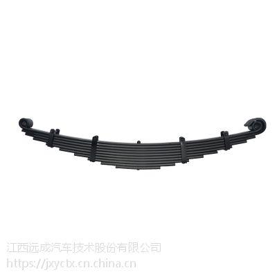 远成昌力60SI2Mn材质重型汽车大运板簧前簧定制制造商