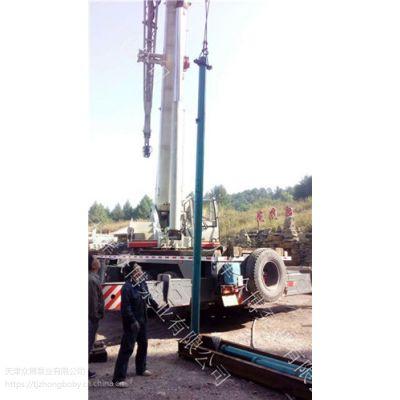 天津众博泵业高扬程潜水泵,温泉井用耐高温潜水泵选型