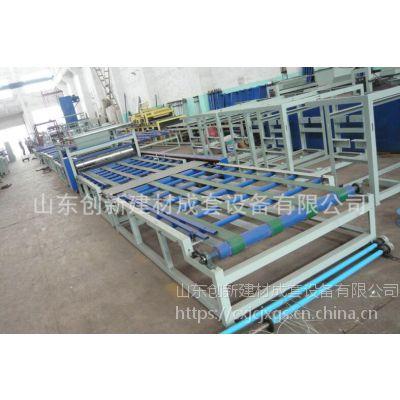 山东创新防火装饰玻镁板生产线设备