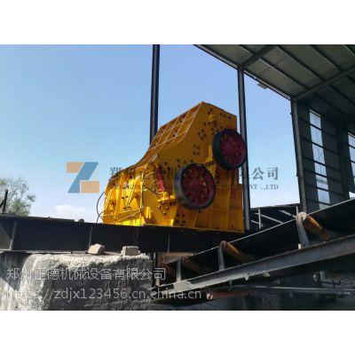 郑州正德高效环保型双级粉碎机 深受砖厂客户信赖与好评