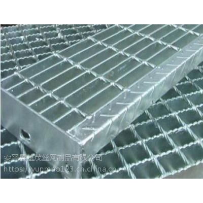 厂家生产销售镀锌钢格板 镀锌踏步板 踏步板实力厂家