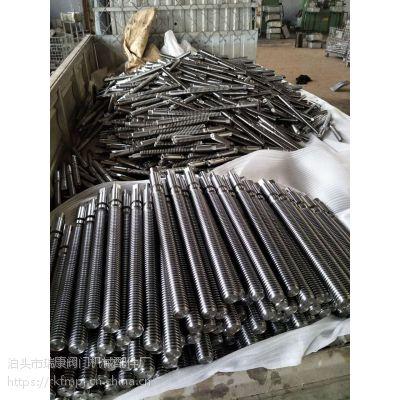 厂家直销 国标丝杆 T型扣丝杠 镀锌丝杆 碳钢Q235材质丝杆