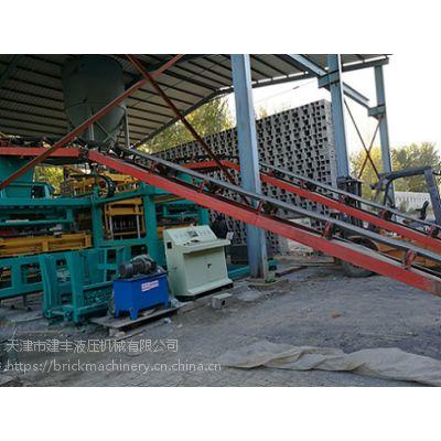 天津建丰砖机供应山东新型制砖机液压机械 /滨州水泥路面砖机价格