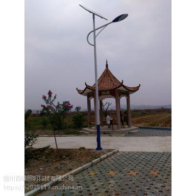 广西来宾市武宣县供应5~10米LED太阳能路灯厂家 送货上门