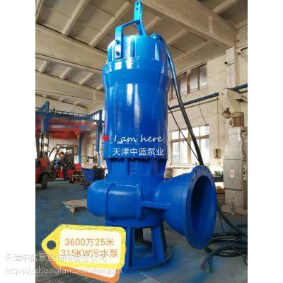 WQ耐腐蚀不锈钢排污泵