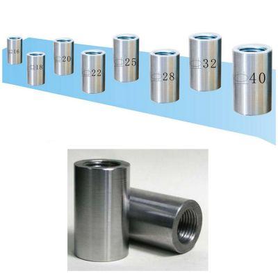 现货供应 建筑钢筋连接套筒 国标直螺纹钢筋套筒 衡水厂家现货