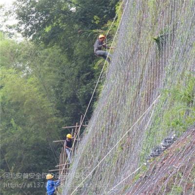 厂家现货主动边坡防护网@安首边坡防护网厂家