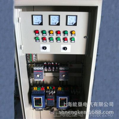厂家直销NKR1S-11KW一拖二低压智能电机软起动柜 上海能垦软启动柜