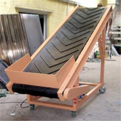 工厂z型皮带输送机 兴亚升降皮带输送传料机生产