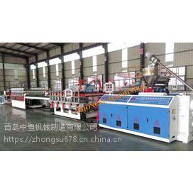 pvc木塑结皮发泡板设备生产线