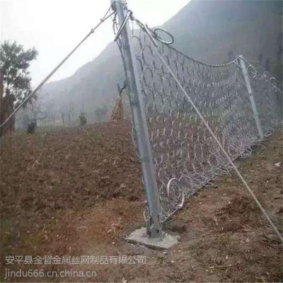 动物园养殖围栏网 边坡绿化铁丝网 学校操场围栏网 煤矿防护网