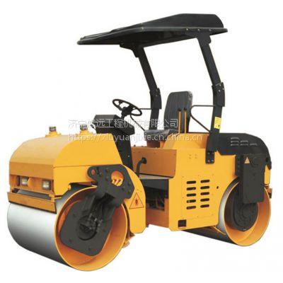 修远小型压路机双钢轮柴油座驾式压路机路面压实土方机振动座驾式3吨