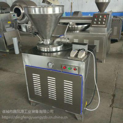 香肠灌装机 鼎凤源 液压灌肠机 香肠加工设机器
