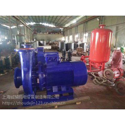 XBD4.0/30-80-HY 地下室 水泵安装 恒压切线泵 多级喷淋泵