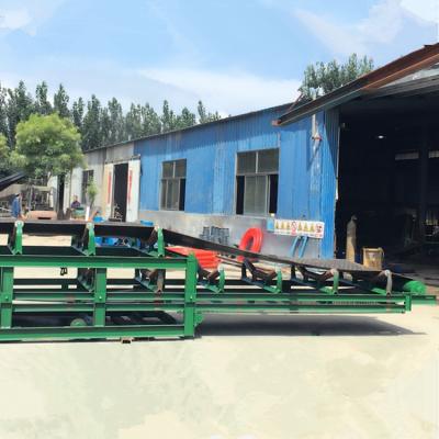 玉米旋转式皮带输送机 兴亚铝型材质水平输送机制作