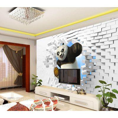 腾彩光磁琉彩一体机 致富设备数码印花机 陶瓷背景墙uv打印机