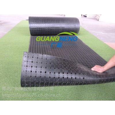 多孔橡胶垫卷材圆孔耐油耐水重载湿区卷装防疲劳走道安全地垫橡胶脚垫