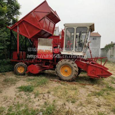 大型自走式玉米秸秆粉碎青储机 牧草青贮收获机 打包机