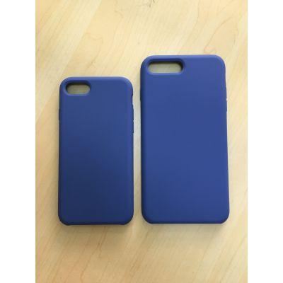 苹果7/7plus液态硅胶手机壳,液态硅胶包pc,硅胶仿原手机壳