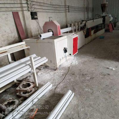 养殖户清粪设备 环保智能型猪舍自动化刮粪机 一拖二不锈钢清粪机