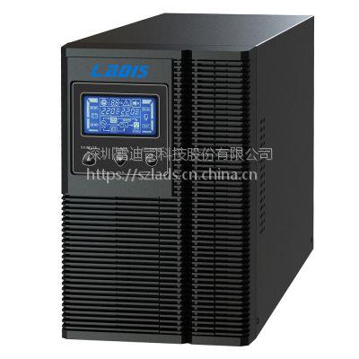 雷迪司G1KL 1KVA 雷迪司在线式UPS不间断电源800W延长4小时100AH电池3只